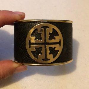Jewelry - Black and gold cuff
